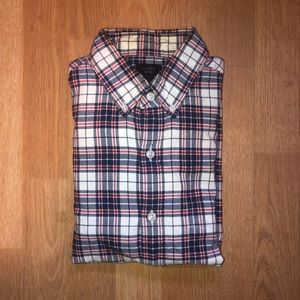 J. Crew Oxford Long-sleeve Button-up